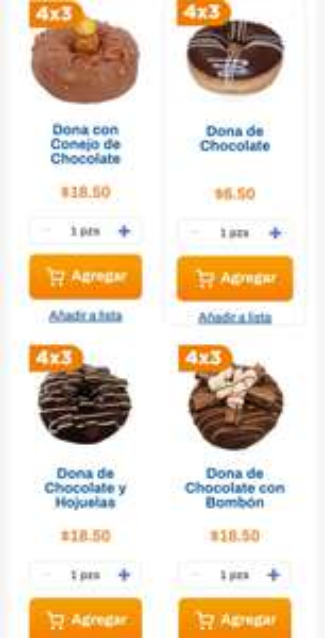 Chedraui: 4 x 3 en donas seleccionadas del departamento de panadería
