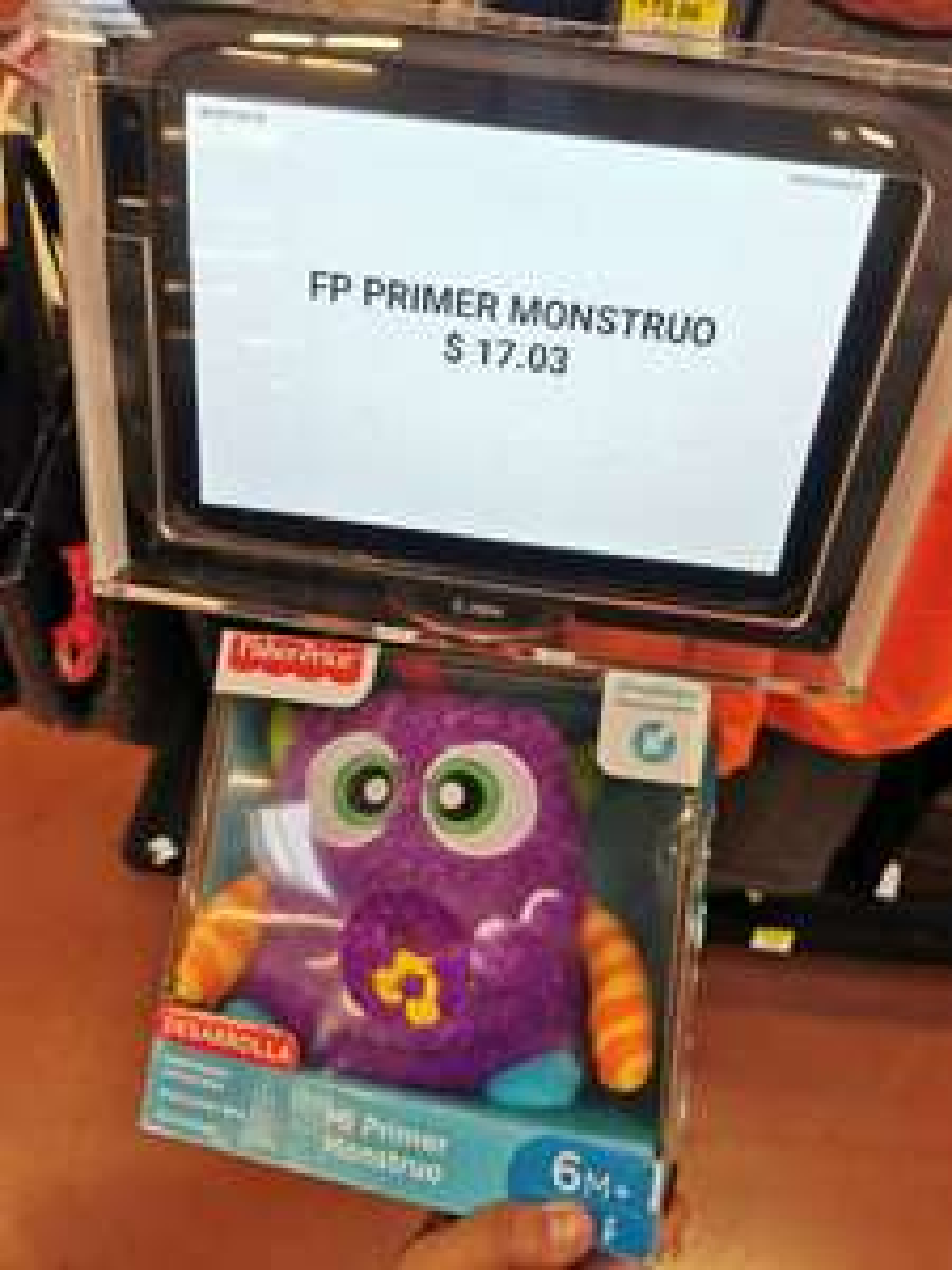 Walmart: Mi primer monstruo fisher price