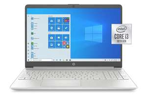 Amazon: Laptop HP 15.6 pul, SSD de 256 gb y 8gb RAM - envío gratis con prime