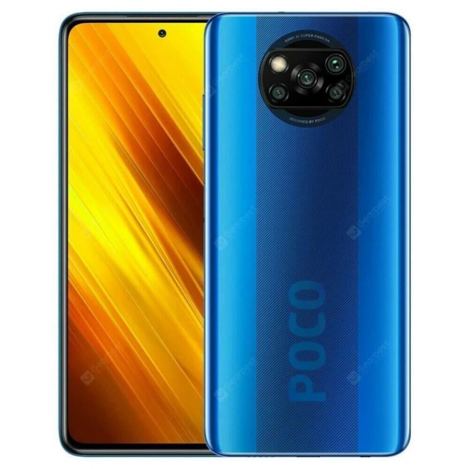 Walmart: Poco X3 NFC 6 ram 64 almacenamiento (azul)