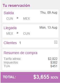 Volaris: DF - GDL desde $999 y Cancún - DF desde $1,599