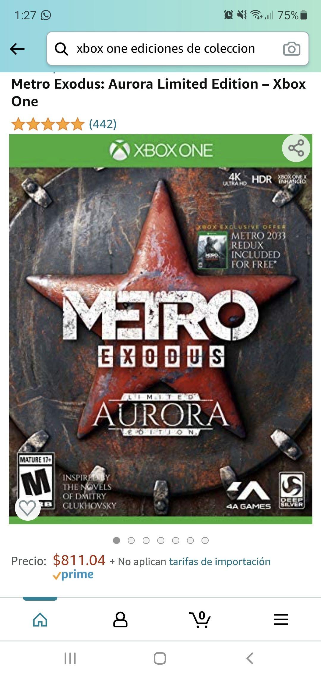 Amazon, Metro Exodus: Aurora Limited Edition - Xbox One