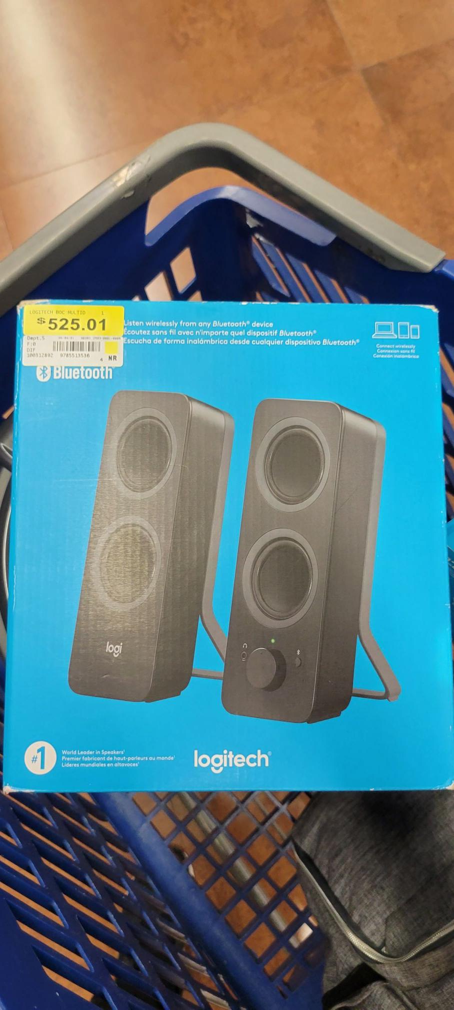 Walmart: Bocinas Logitech Z207 en liquidación