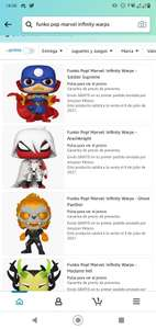 Preventa de Funko de Marvel en Amazon