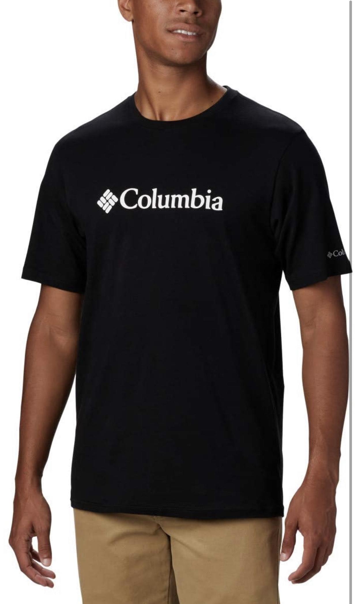 Amazon: Camiseta Columbia XL color negro