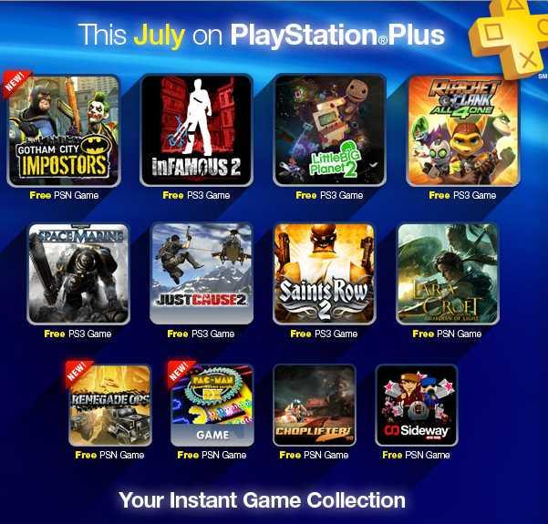 PlayStation Network: juegos gratis de julio para suscriptores Plus