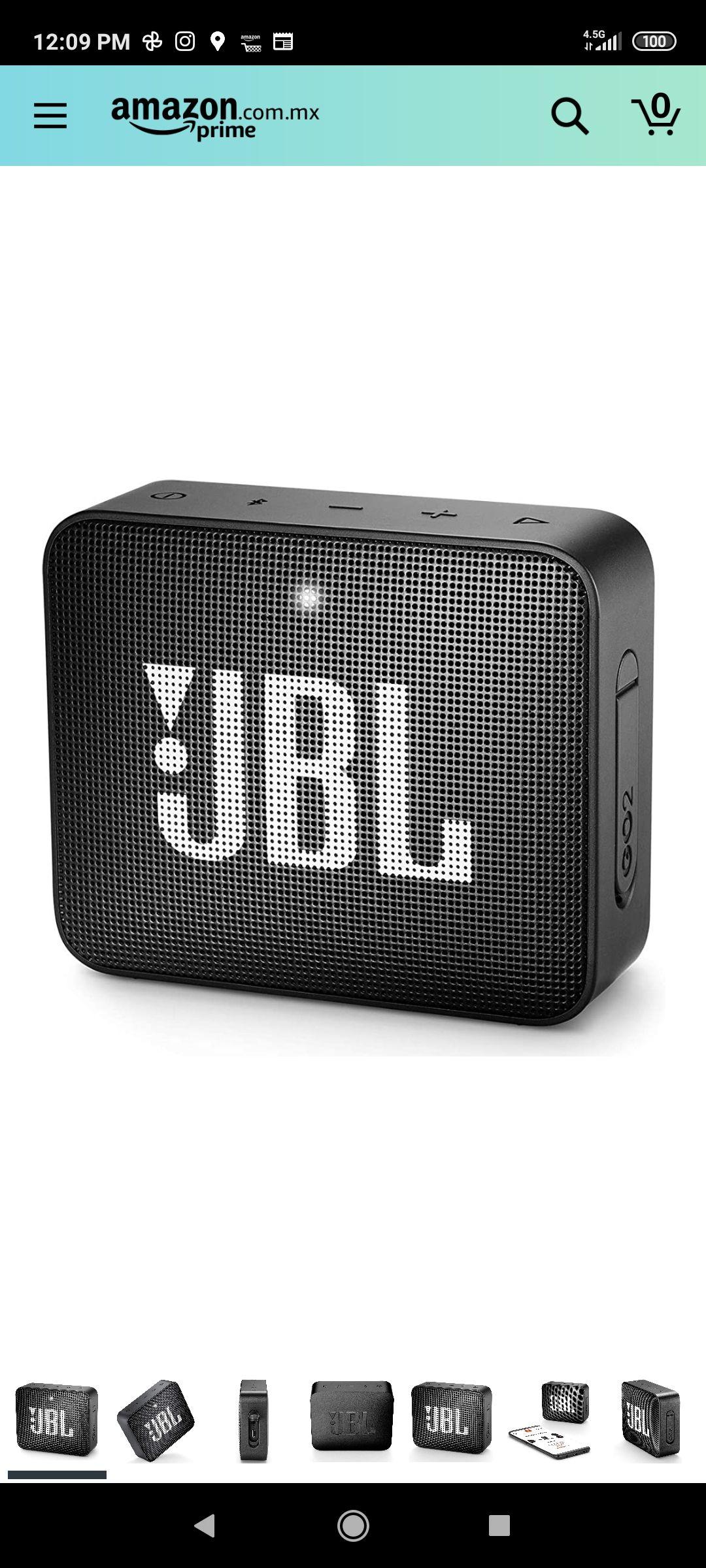 Amazon: Bocina JBL GO 2