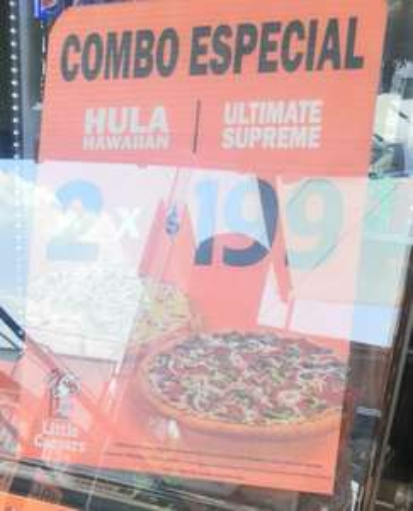 Little Caesars: Combo 2 Pizzas: Hula Hawaiian + Ultimate Supreme $199