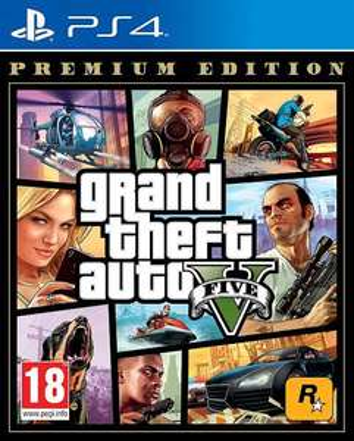 Amazon: Grand Theft Auto V Playstation 4