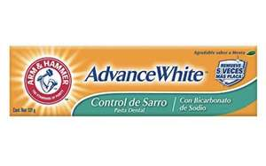 Amazon: Arm & Hammer Advance White Pasta Dental Control Sarro 121 gr