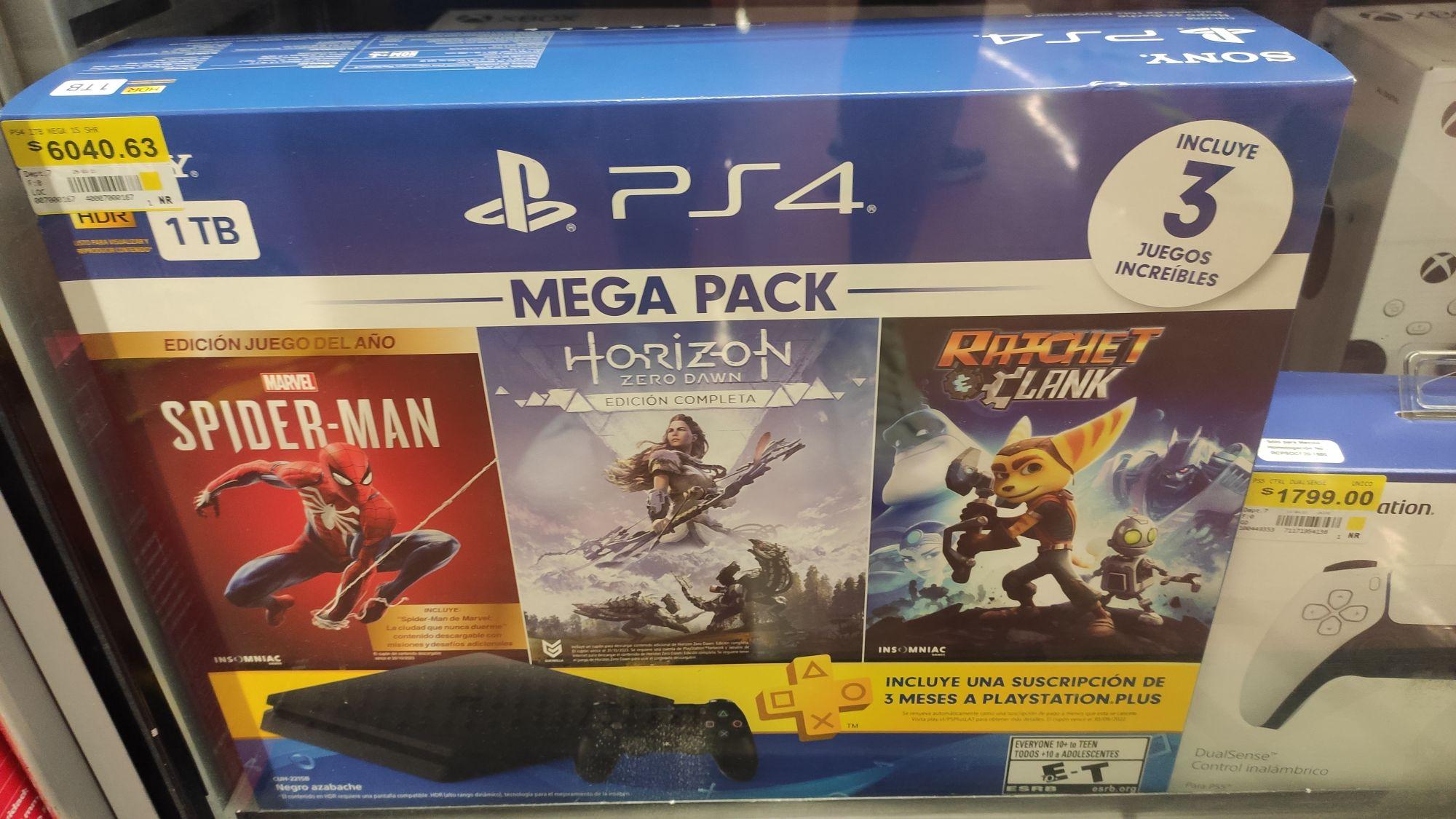 Walmart: PS4 MEGA PACK
