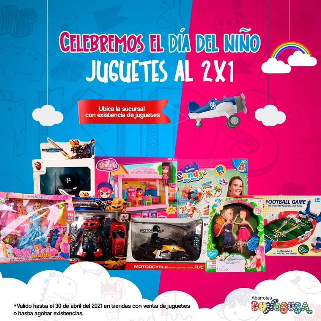 Dunosusa: juguetes al 2x1 por el día del niño