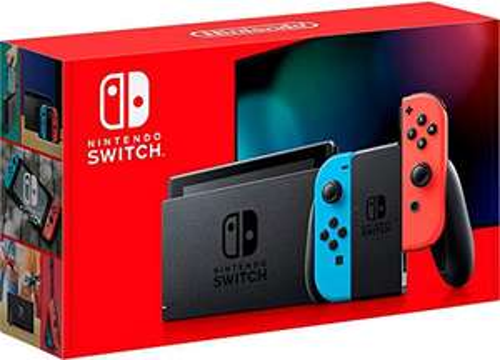 Amazon: Consola Nintendo Switch Neon Version 1.1 ($6,450), Gris ($6,671) pagando con Tarjeta de Crédito Digital Banorte