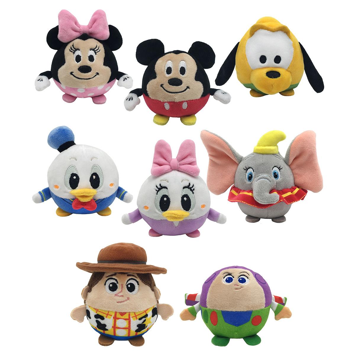 Costco: Disney, Baby Cuddle Pals de 7.6 cm (8 Piezas)