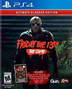 Amazon: Friday the 13th: Ultimate Slasher Edition PS4 - Standard Edition - PlayStation 4