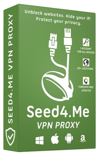 Seed4Me: VPN Gratis por 6 meses