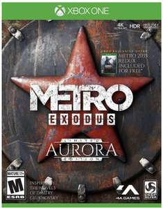 Amazon: Metro Exodus: Aurora Limited Edition – Xbox One