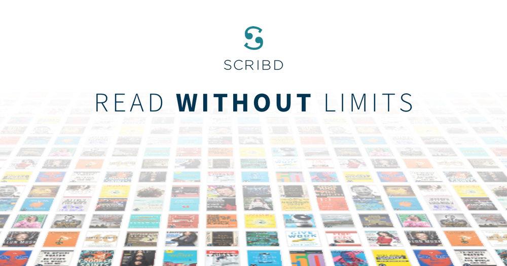 SCRIBD Premium: 2 meses gratis + 1 año de MUBI + CONtv + Comics y otros servicios gratis