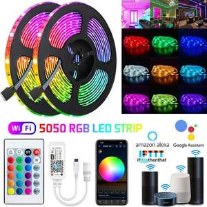 AliExpress: 5 metros de tira led a $74