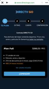 DirectTV Go HBO 24 meses