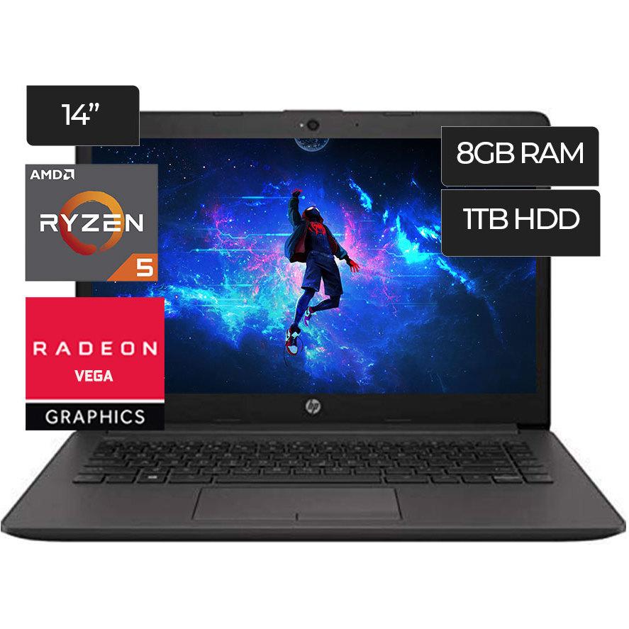 """Cyberpuerta: Laptop HP 245 G7 14"""", AMD Ryzen 5 3500U 8GB/1TB"""