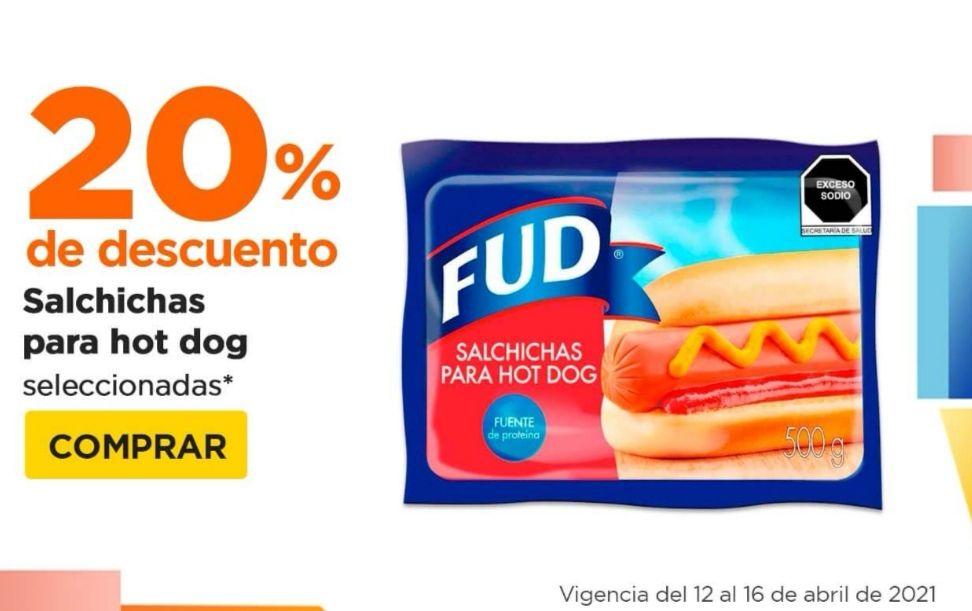 Chedraui: 20% de descuento en salchichas para hot dog seleccionadas