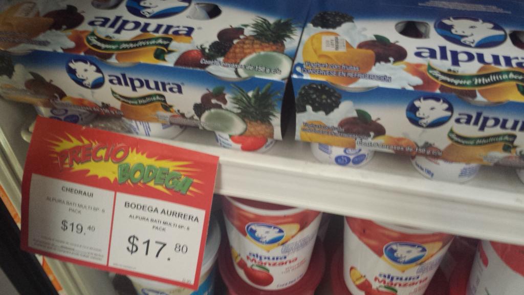 Bodega Aurrerá: Paquete de 6 Yoghurts Alpura a $17.80