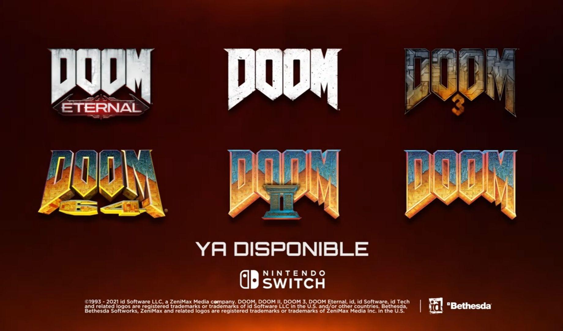 Nintendo Eshop Brasil: Franquicia de Doom en descuento
