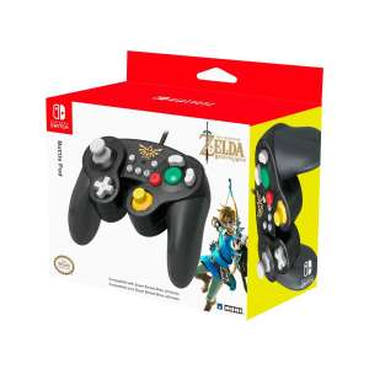 Sears: Control Nintendo Switch ( Estilo GameCube Vers. Zelda Breath of Wild )