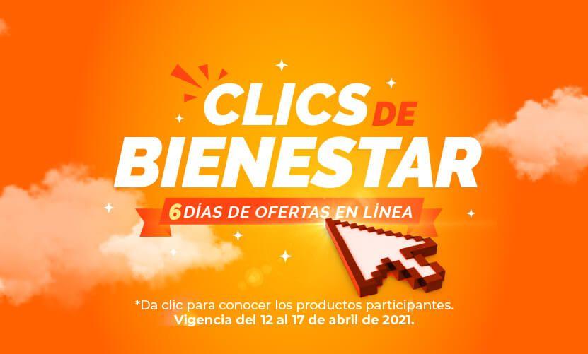 Farmacias San Pablo: Clics de Bienestar: Ofertas en tienda en línea y app del Lunes 12 al Sábado 17 de Abril