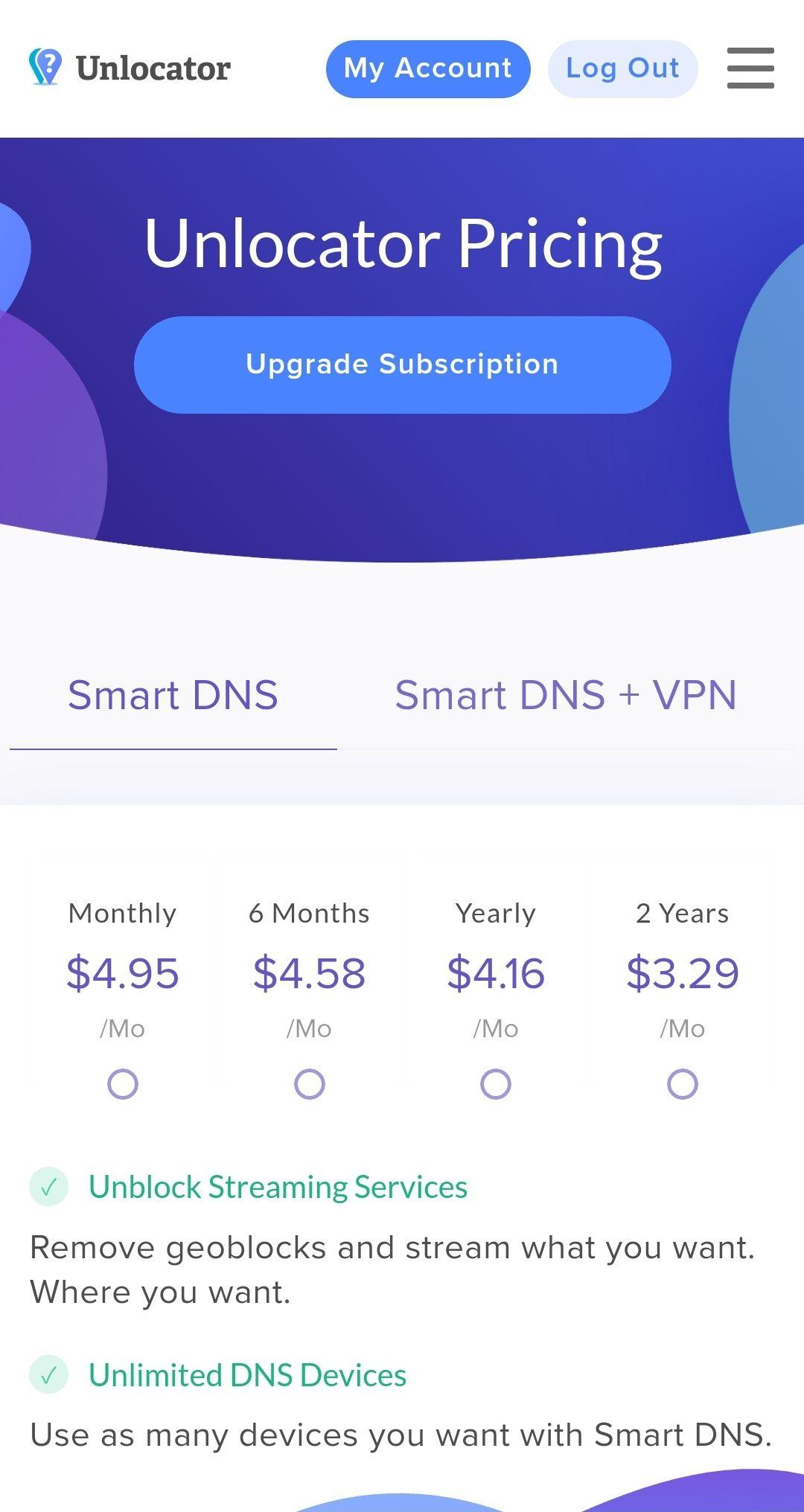 Unlocator Smart DNS Netfix