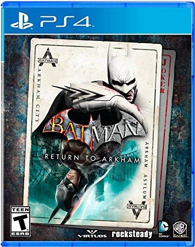 Amazon JUEGO BATMAN RETURNS TO ARKHAM ( PS4 )