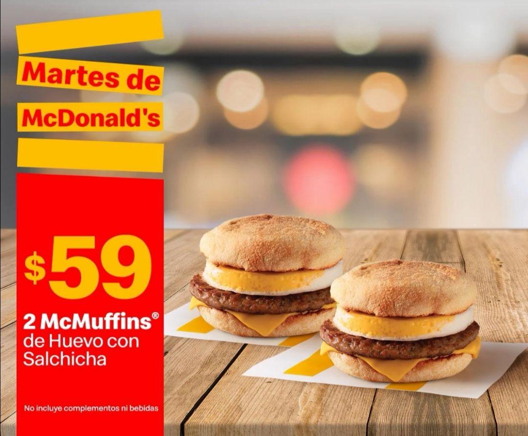 McDonald's: Martes de McDonald's 13 Abril