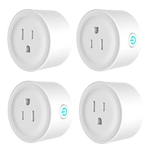 Amazon: 4 Smart Plug YOMYM Compatible con Amazon Alexa, Google Home e IFTTT, (Oferta Relámpago)