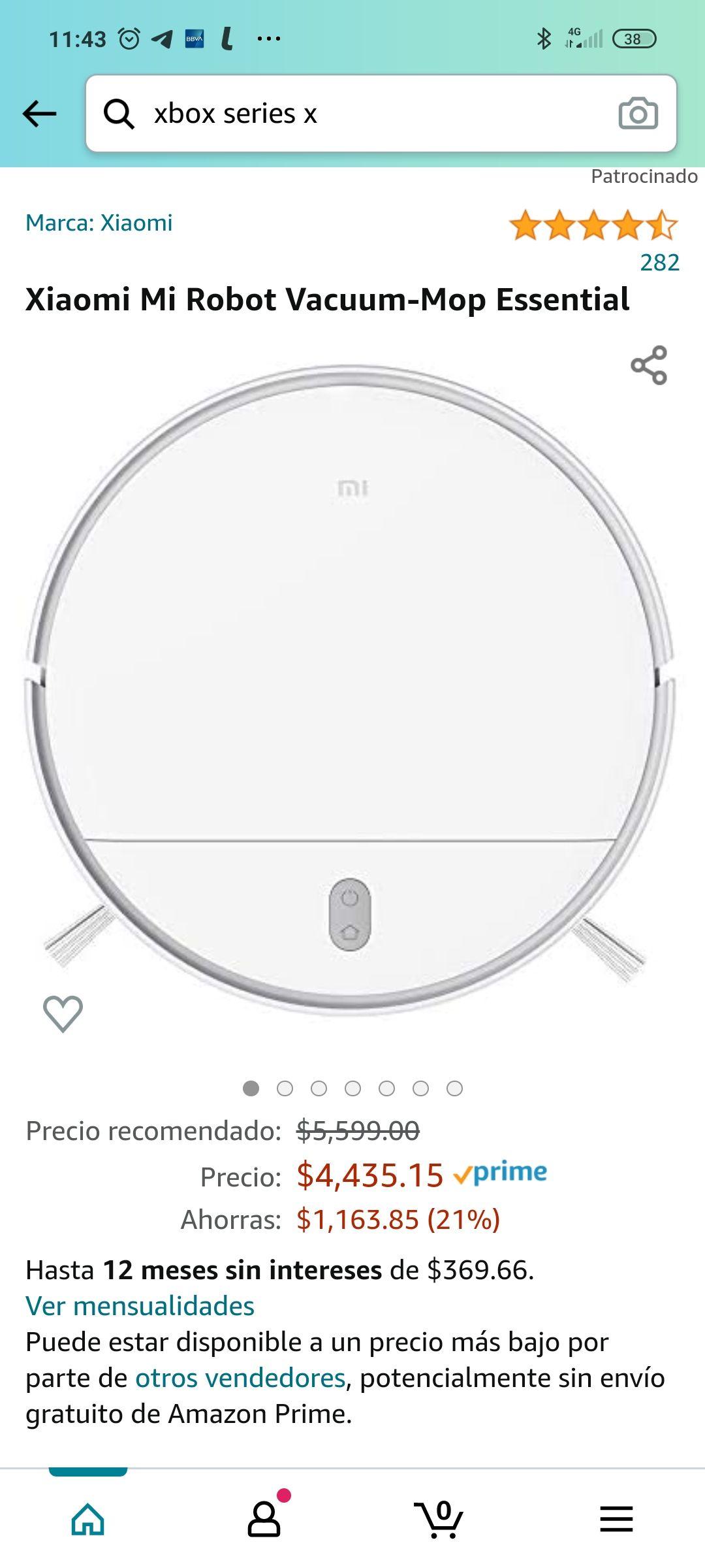 Amazon: Mi Fan Festival 2021 Xiaomi Mi Vacuum-Mop Essential 12 MSI