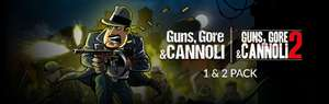 Fanatical [PC]: Guns, Gore & Cannoli 1 + 2 Pack por 2.99 dólares - OFERTA FLASH POR 48 hrs.