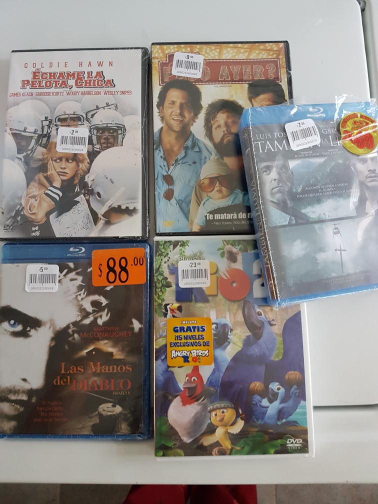 Comercial Mexicana: peliculas DVD y Blu-ray desde $2