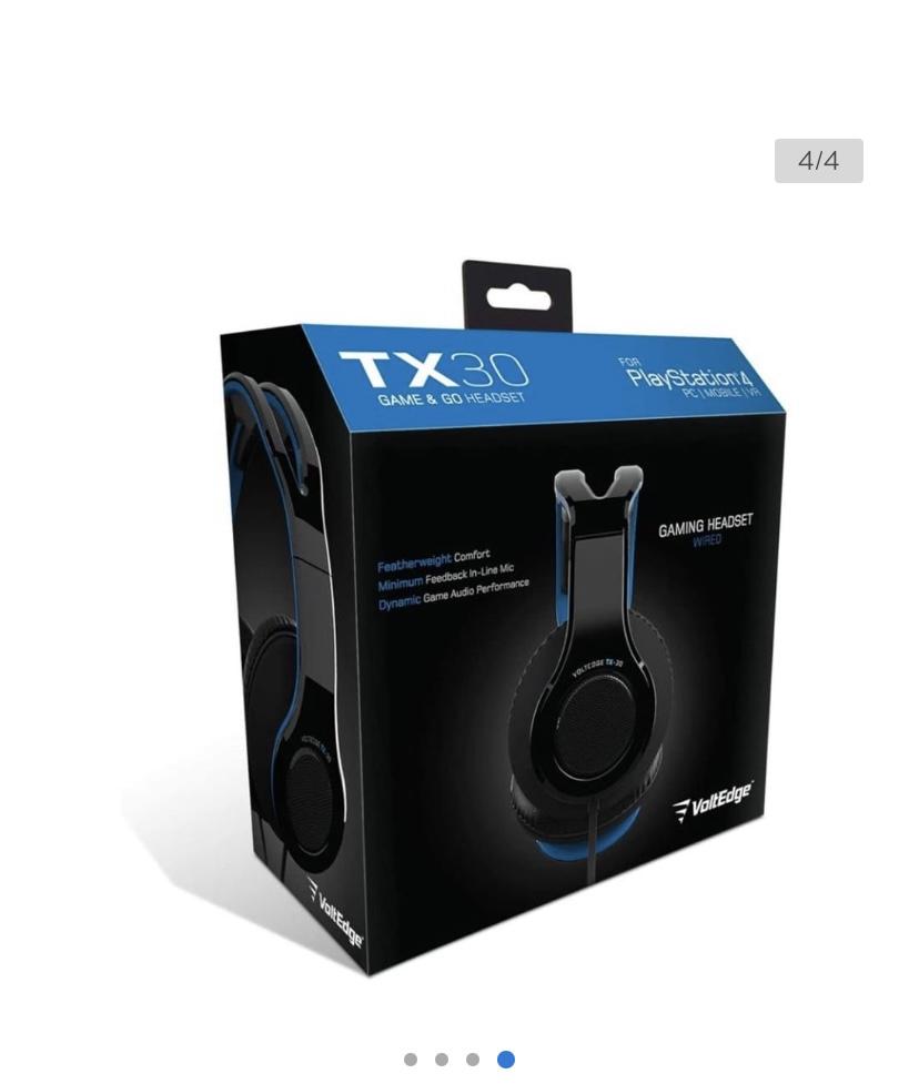 Walmart: Audífonos VoltEdge Gamer TX30 Azul