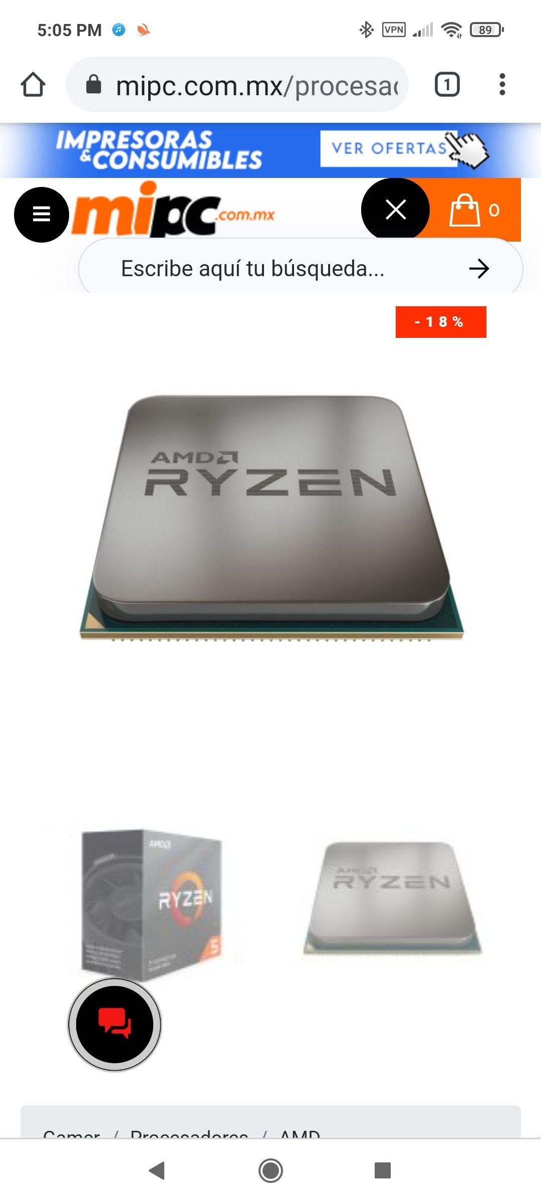 Mi PC: Ryzen 5 3600