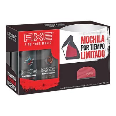 Superama: paquete de 2 desodorantes Axe y mochila por $50