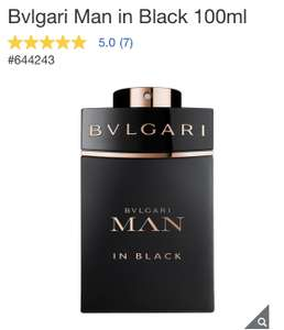 Costco: Bvlgari Man In Black EDP