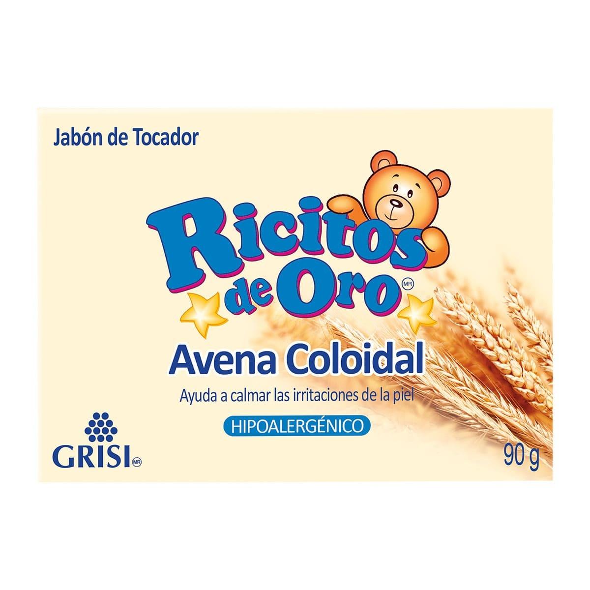 Chedraui: Jabón Ricitos de Oro Avena 90g