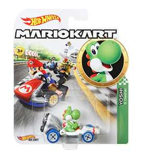 Amazon: Hot Wheels Mario Kart, Yoshi, Vehículos, Autos de Juguete