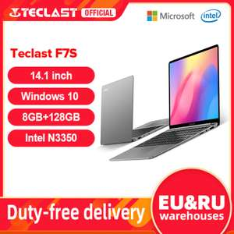 AliExpress: Laptop barata Teclast F7s Full HD con bluetooth y mini hdmi