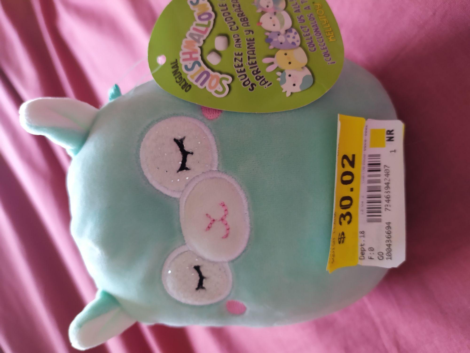 Walmart: Llama de tela suave de 13 cm para bebé