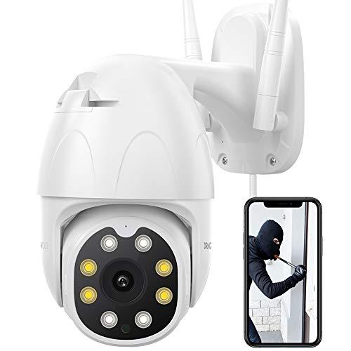 Amazon Dragon Touch Giratoria a 360 grados, Zoom 4X, Wifi, Alexa, Google Assistant