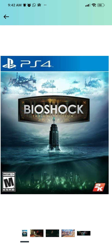 Amazon: BioShock collection PS4