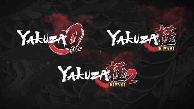 PSN: Yakuza 0, Kiwami y Kiwami 2
