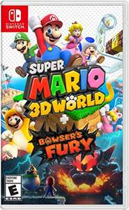 Amazon: Super Mario 3D World + Bowser's Fury - Standard Edition - Nintendo Switch