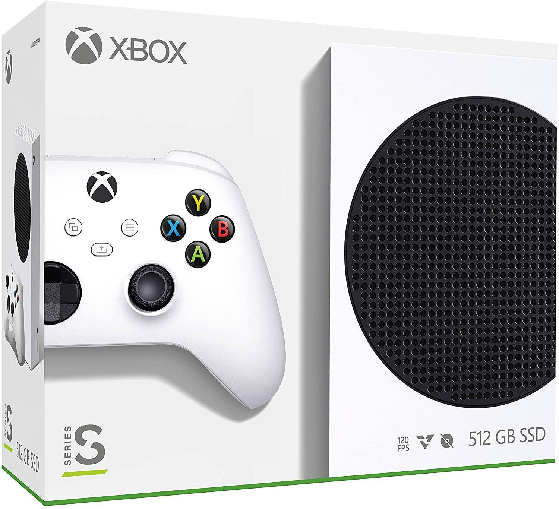 Amazon:Consola Xbox Series S + Control Xbox series s/x Carbon Black (es la consola + 1 control/2 controles en total)(Banorte)